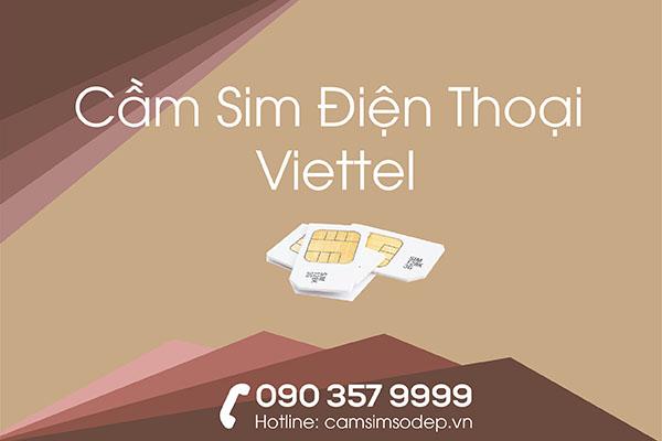 Cầm Sim Điện Thoại Viettel